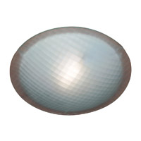 PLC Lighting Nuova Ceiling Checkered Polished Chrome 22216