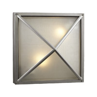 PLC Lighting Danza LED Exterior Silver