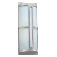 PLC Lighting Rox 2 Light Exterior Silver
