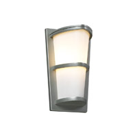 PLC Lighting Alegria Exterior Silver GU24