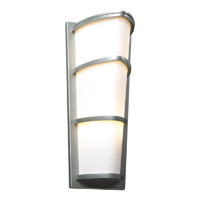 PLC Lighting Alegria 2 Light Exterior Silver GU24