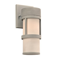 PLC Lighting Qubert Exterior Silver GU24