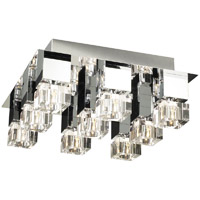 PLC Lighting Charme 9 Light Ceiling
