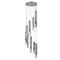 PLC Lighting Trento 9 Light Chandelier