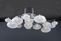 PLC Lighting Comolus 8 Light Ceiling 96942