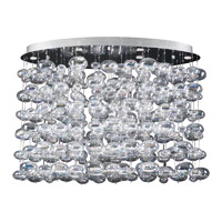 PLC Lighting Bubble 6 Light Chandelier 96969