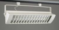 PLC Lighting Biax CFL Track Fixture