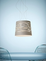 Tress Grande LED Suspension Light | Foscarini