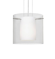 Pahu 16 Stem-Mount Pendant Light | Besa Lighting