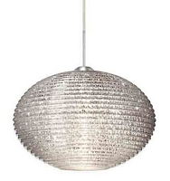Pape 12 Stem-Mount Pendant Light | Besa Lighting