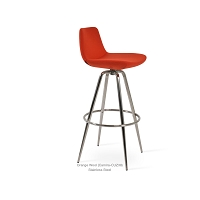 Pera Max Swivel Stool Fabric | SohoConcept