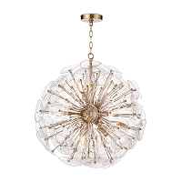 Regina Andrew Poppy Glass Chandelier Small Clear