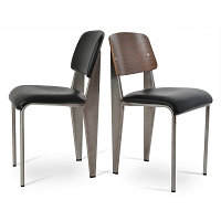 Prouve Soft Seat Dining Chair | SohoConcept