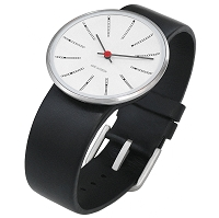 Arne Jacobsen Banker's 34mm Wrist Watch
