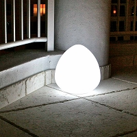 Rock LED Indoor/Outdoor Lamp | Smart & Green