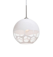 Rocky Cord-Hung Pendant Light | Besa Lighting