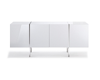 Struttura Buffet Small High Gloss White | Whiteline