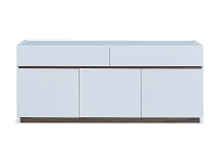 Serena Buffet Table High Gloss White | Whiteline