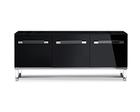 Brianna Buffet Table High Gloss Black | Whiteline