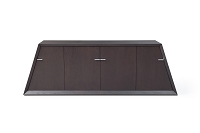 Zico Buffet Table Wenge Oak Veneer | Whiteline