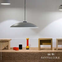 HeadLed  Suspension Lamp Metallic | Santa & Cole