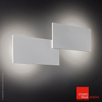 Puzzle Double Rectangle Wall and Ceiling | Studio Italia Design