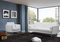 Giovanni Sofa Bed White | Whiteline