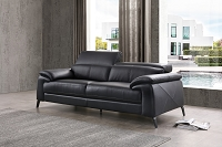 Dominik Sofa Black | Whiteline