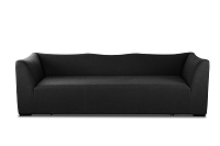 Harmony Outdoor Sofa Dark Charcoal | Whiteline