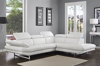Pandora Sectional White | Whiteline