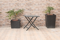 Flint Outdoor Side Table | Whiteline
