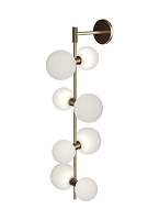 ModernRail Wall Sconce Glass Orbs | Tech Lighting