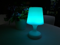 Cosmos Led Table Lamp Bluetooth Speaker | Whiteline