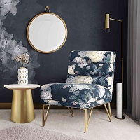 Tov Furniture Rowan Brass Mirror