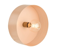 Tov Furniture Mokhtar Blush Round Wall Sconce