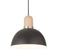 Tov Furniture Juku Blush Grey Large Pendant