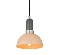 Tov Furniture Juku Blush Grey Small Pendant