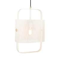 Tov Furniture Klaus White Pendant