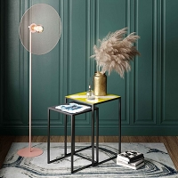 Tov Furniture Kochi Blush Floor Lamp