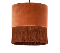 Tov Furniture Atolla Brick Tassel Pendant