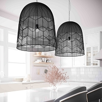 Tov Furniture Tessa Large Pendant