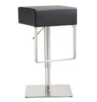 Tov Furniture Seville Black Barstool