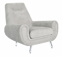 Piper Beige Linen Chair | Tov Furniture