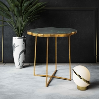 Tov Furniture Lily Agate Side Table