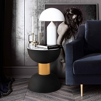 Tov Furniture Taper Marble Side Table