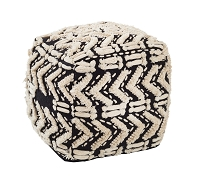 Tov Furniture Mariel Cotton Pouf