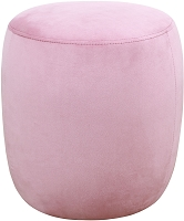 Tov Willow Blush Velvet Ottoman