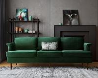 Tov Furniture Porter Forest Green Sofa