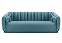 Tov Arno Sea Blue Velvet Sofa