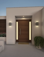 Tersus Outdoor LED Sconce | Cerno